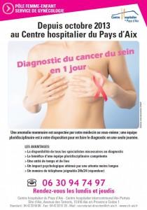 Aff diagnostic du cancer du sein en un jour Aix en Provence