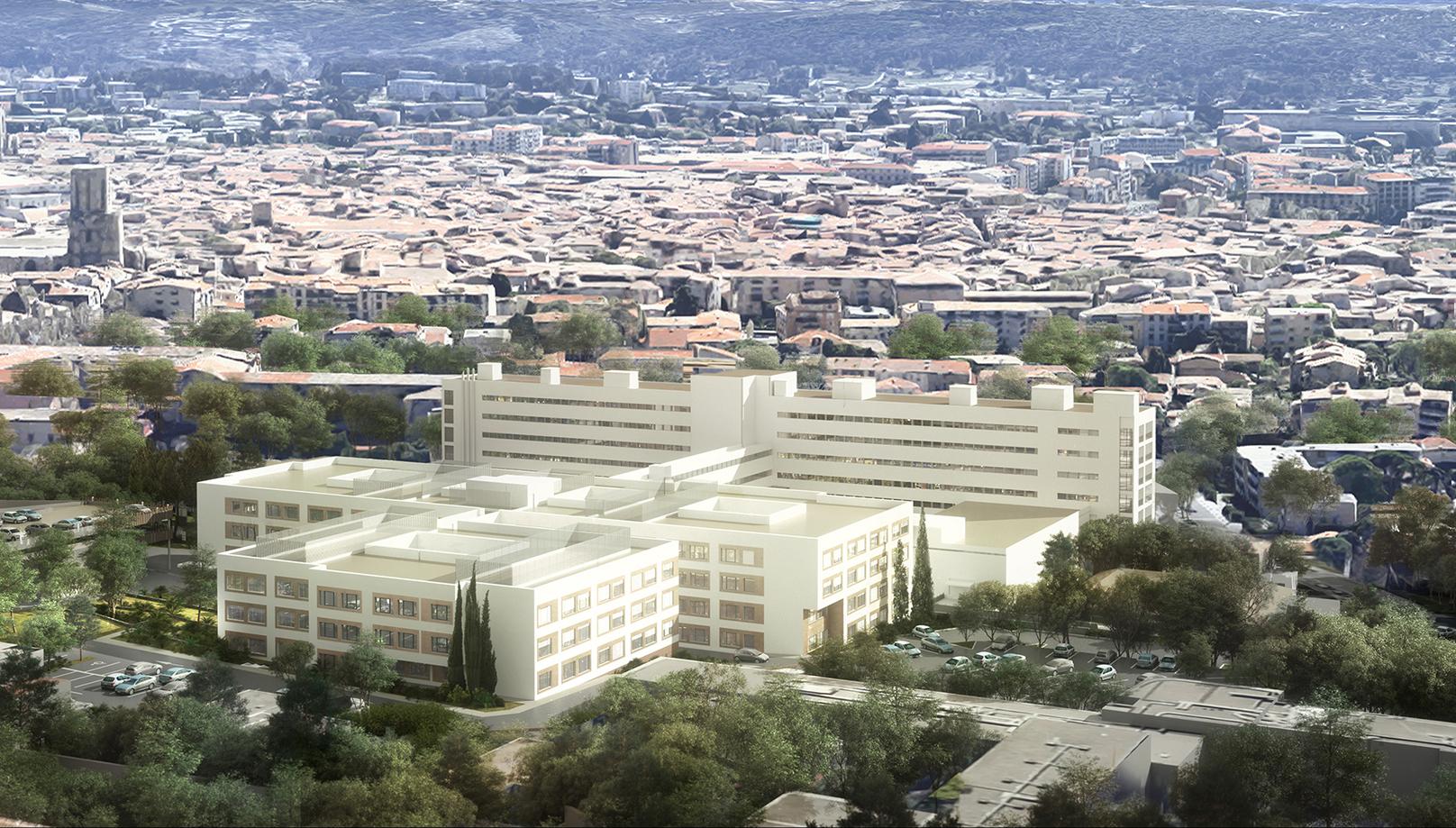 vu projet CH Aix